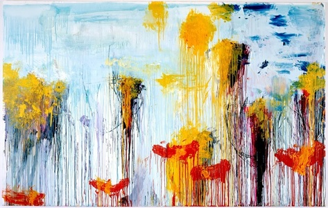 come back Cy Twombly by Chance Austin-Brecher